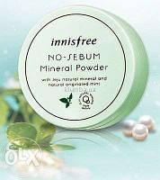 Минеральная рассыпчатая пудра Innisfree No-Sebum Mineral Powder