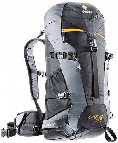 Прочный, надежный рюкзак для фрирайда, бэккентри на 30 л. DEUTER CRUISE 30, 33693 7490 черный