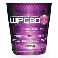 OstroVit WPC80 Сывороточный протеин Клубника