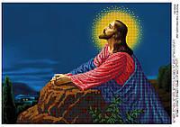 """Схема для частичной вышивки бисером """"Молитва в Гефсиманском саду"""""""