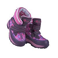 Термо ботинки для девочки B&G ZTE 132-25F