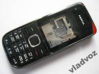 Корпус Nokia C2 01 черный + клавиатура class 2A