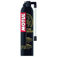 Средство для ремонта подкачки колес мотоцикла Motul P3 Tyre Repair (300 ml)