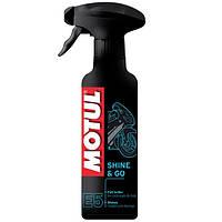 Средство для восстановление лакокрасочных покрытий Motul E5 Shine & Go (400 ml) / 103000.