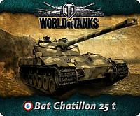 Компьютерный коврик под мышку World of Tanks Bat Chatillon