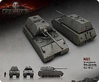 Компьютерный коврик под мышку World of Tanks MAUS WOT