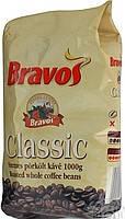 Зерновой кофе Робуста из Венгрии Bravos Classic 1кг зерно