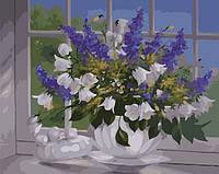 Картина по номерам Menglei Ваза у окна худ. Шольнхаммер, Хайнц (MG337) 40 х 50 см