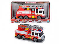 Игрушечная пожарная машина со звуком и светом и водяными эффектами
