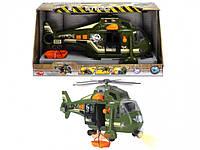 Игрушечный военный вертолет Воздушные силы со звук. и свет. эффектами2 см