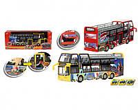 Автобус туристический игрушечный, 29 см, 2 вида