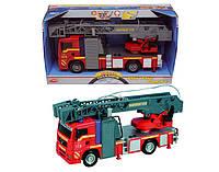 Игрушка пожарная машина со звук., Свет. и водным эффектом 31 см