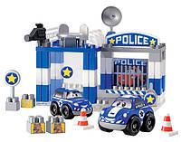 Конструктор Скоростное авто. Полицейский участок, 57 элем.