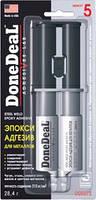 DD6573  5-хвилинний 2-компонентний стальний епокси-адгезив у шприці