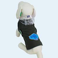 Куртка-дождевик OUTDOOR LINE для больших собак размер 5XL, цвет - зеленый