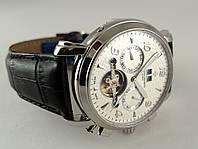 Механические часы Vacheron Constantin с автоподзаводом, цвет корпуса серебро