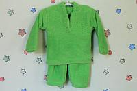 Детская теплая пижама для мальчика материал травка р.22,24,26,28,30,32,34,36,38