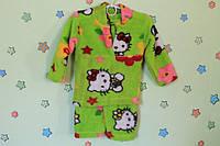 Детская теплая пижама для девочки (материал травка) р.22,24,26,28,30,32,34,36