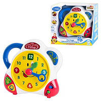 Говорящие обучающие часы (англ, франц) и (англ, нем) Hap-P-Kid 3898