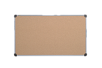 Доска пробковая в пластиковой рамке 65х100см