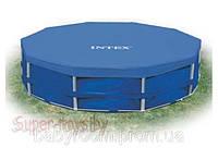 Тент Intex для каркасного круглого бассейна (305 см) арт.58406/28030