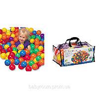 Шарики (мячики) 49602 для сухого бассейна 6,5 см; 8см