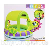 """Детский надувной бассейн Intex 57110 """"Морской конек"""""""