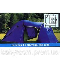 Палатка четырехместная  Coleman 1009 Польша