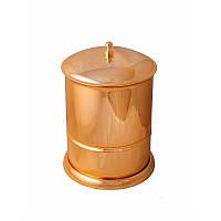 Ведро для мусора 5л ( Versace ), золото A231060