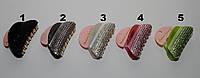 Модная заколка-краб для волос со стразами 8 см DBV 24 /0-1