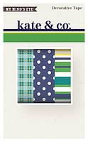 Декоративные ленты My Mind's Eye - Kate and Co - Oxford Lane Decorative Tapes, KC1050