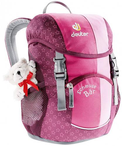 Детский рюкзак маленького размера 8 л. Deuter SCHMUSEBAR, 36003 5040 розовый