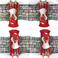 Салфетка декупажная Девочка шлёт письмо Деду Морозу 359
