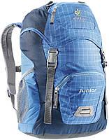 Вместительный детские рюкзак на 18 л. Deuter Junior 36029 3014 синий