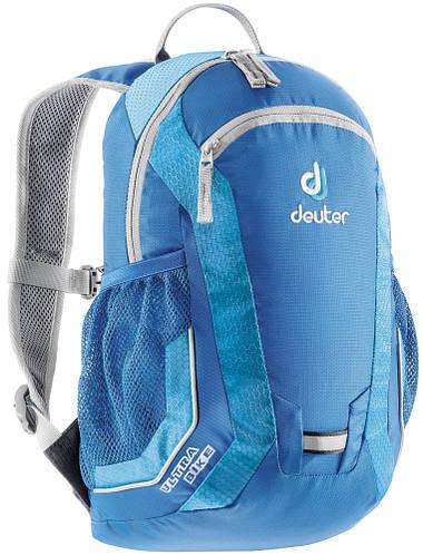 Велорюкзак DEUTER для юных спортсменов-байкеров ULTRA BIKE, 36062 3355 голубой