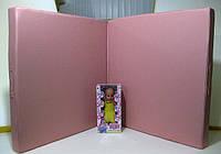 Мат раскладной нежно розового цвета (экокожа) 1х2х0,1м