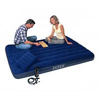 Двуспальный надувной матрас Intex  68765