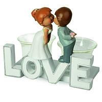"""Фигурка на свадебный торт """"Love"""", интересные свадебные статуэтки"""