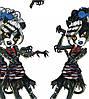 "Вафельные картинки ""Monster High"" (код 01262)"