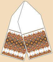Рушник под каравай РБ-2011  Ткань с рисунком для вышивания бисером