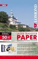 Термотрансферная бумага для лазерной печати, для твердых поверхностей, A4, 140 г/м2, 50 листов.