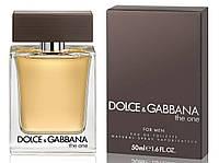 Мужская туалетная вода Dolce&Gabbana The One ( древесно-пряный аромат) 100 мл