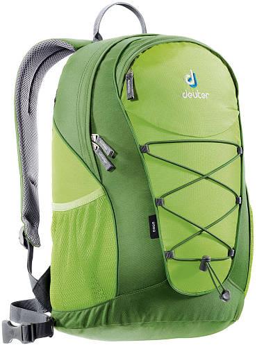 Стильный, городской рюкзак GO GO облегченный 25 л. DEUTER, 80146 2206 зеленый