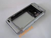 Корпус для телефона Nokia N8, N 8 серебро class AAA