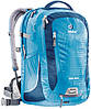 """Бизнес-рюкзак для велосипедистов GIGA BIKE для ноутбука 17"""" DEUTER, 80444 3312 синий"""