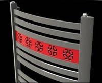 Дизайнерська рушникосушка 500 x 1200 обігрівачі водяні