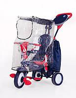 Дождевик на трехколесный велосипед 0343 на змейке