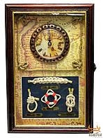 Ключница с часами