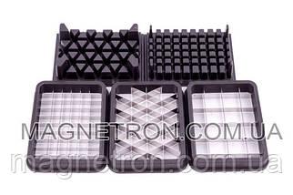 Комплект насадок для нарезки кубиками для блендера Philips HR7968/90, фото 2