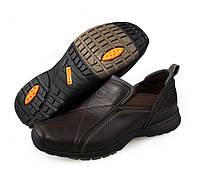 Комфортный мужские кожаные туфли SUOYUE